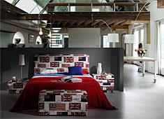 Dormitorio British Flags