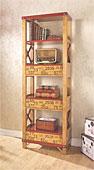 Librería vintage Delbin