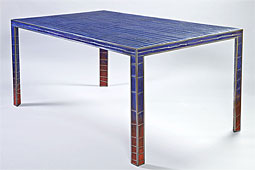 Mesa de comedor Moderna Trydin