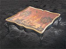 Mesa de centro clásica Unicorno