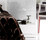 Mesa de noche Nexus 1 cajon - Mesas de Noche de Diseño - Muebles de Diseño