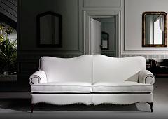Sofá en piel vintage Bourguen