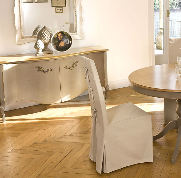 Comedor redonda cubiertas de la silla for Cubiertas para comedor