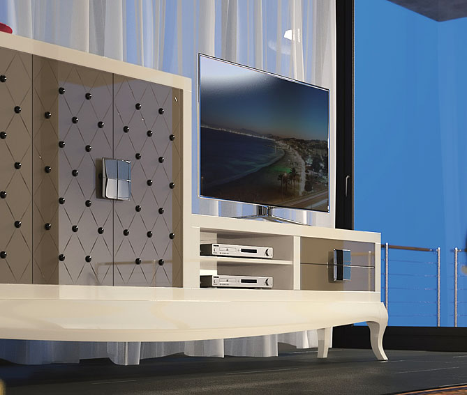 Modern ambience salon smith living rooms ambients for Ambiance salon moderne