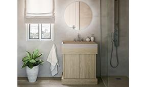 Mueble de baño microcemento Indo