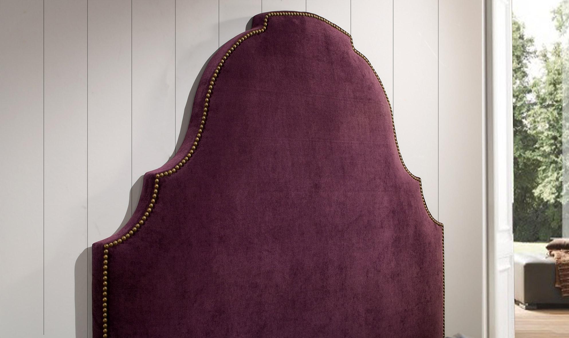 Cabecero vintage tapizado chantilly en cosas de arquitectoscosas de arquitectos - Cabeceros tapizados vintage ...
