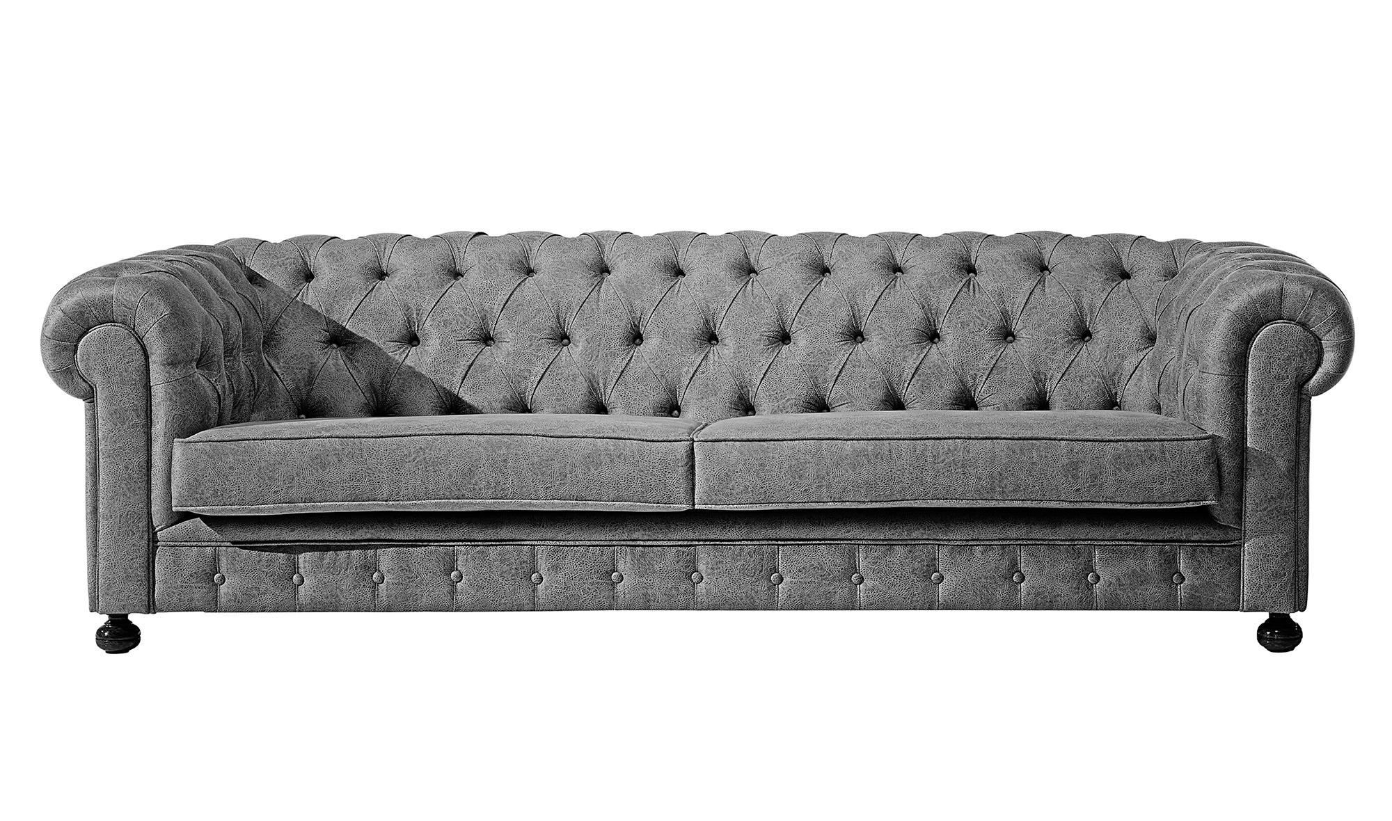 Sof chester 4 plazas simil piel antic en cosas de - Sofa tipo chester ...