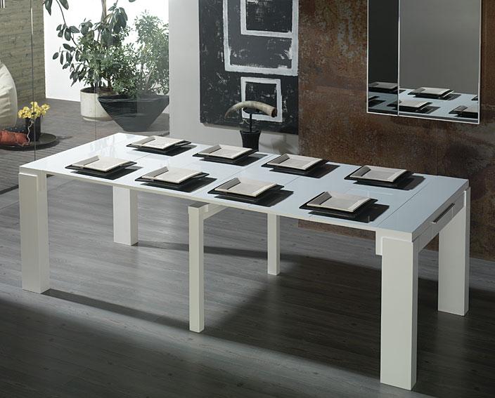 Consola mesa de comedor extensible Moderna Dirfon en Portobellostreet.es