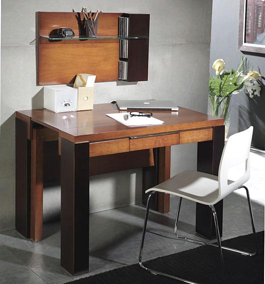 Consola mesa de comedor extensible moderna watson en cosas for Muebles consolas