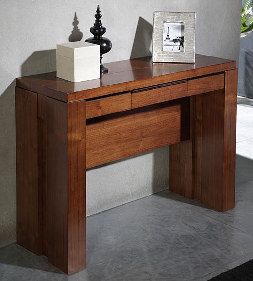 Consola mesa de comedor extensible Moderna Watson en Portobellostreet.es