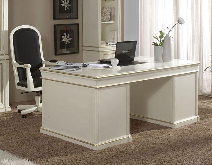 Mesa de escritorio cl sica austrel en cosas de - Mesa escritorio clasica ...