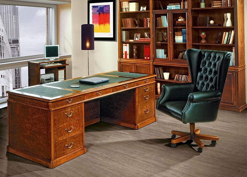 Despacho cl sico donia en cosas de arquitectoscosas de - Muebles despacho clasico ...
