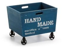 Contenedor azul Vintage Orson - Muebles Auxiliares Vintage - Muebles Vintage