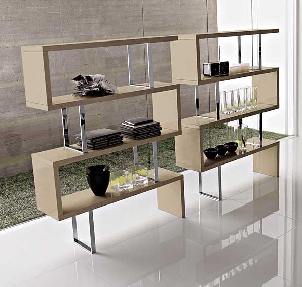 Libreria moderna trafalgar en cosas de arquitectoscosas de - Librerias salon modernas ...