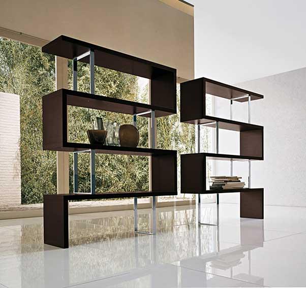 Libreria moderna trafalgar en cosas de arquitectoscosas de for Muebles librerias modernas