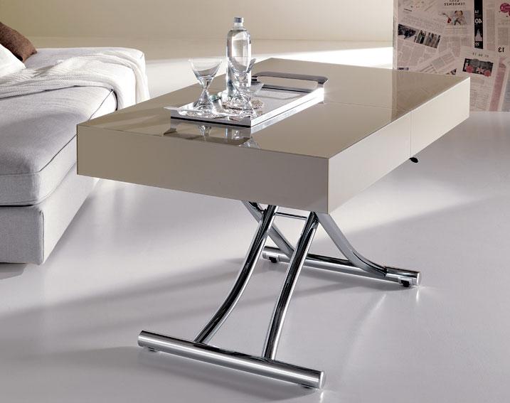 Mesa convertible a comedor moderna box en cosas de - Banco convertible en mesa ...