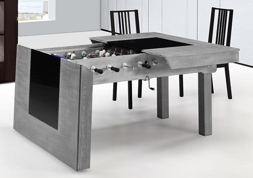 mesa de comedor futbolin