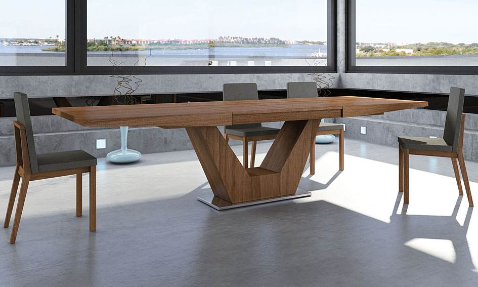 Mesas madera moderna - Mesas modernas de comedor ...
