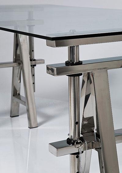Mesa de escritorio moderna sepik en cosas de for Mesa escritorio moderna