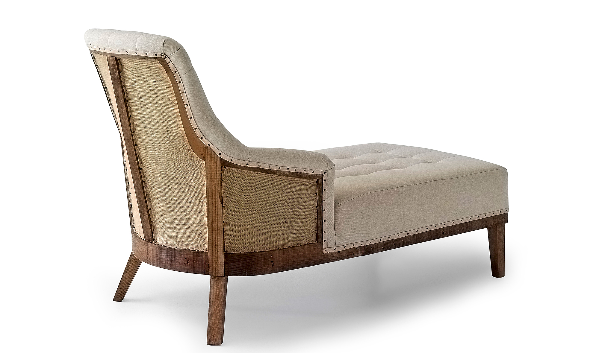 Chaise longue vintage Carlotta basic