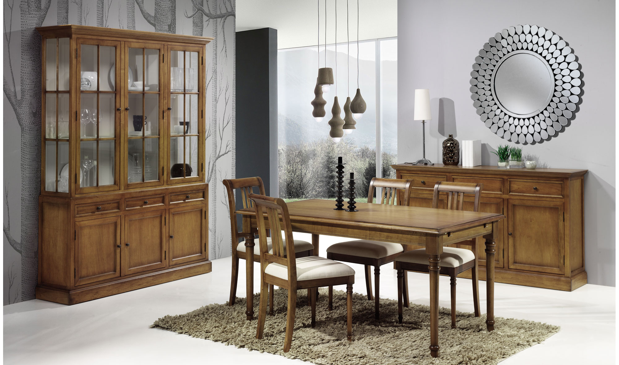 Comedor cl sico lacombe no disponible en for Web de muebles
