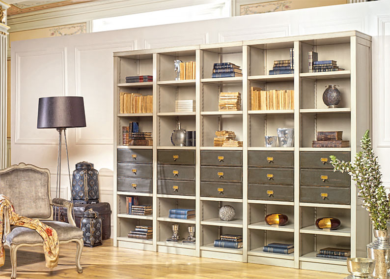 Librer a cl sica berenice en for Mueble libreria