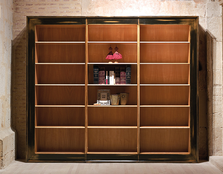Libreria 3 cuerpos napole n no disponible en for Mueble libreria