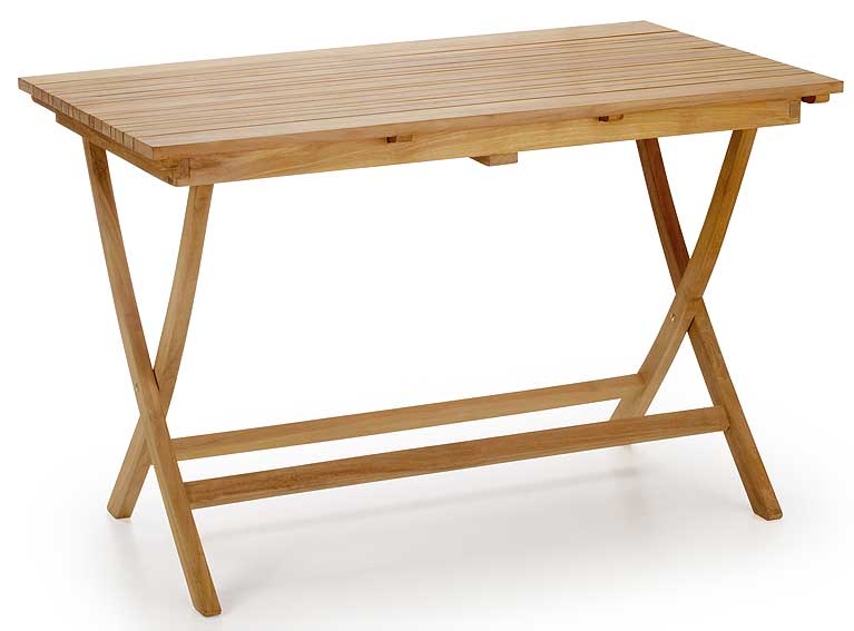 Mesa de comedor plegable en for Mesa jardin madera plegable