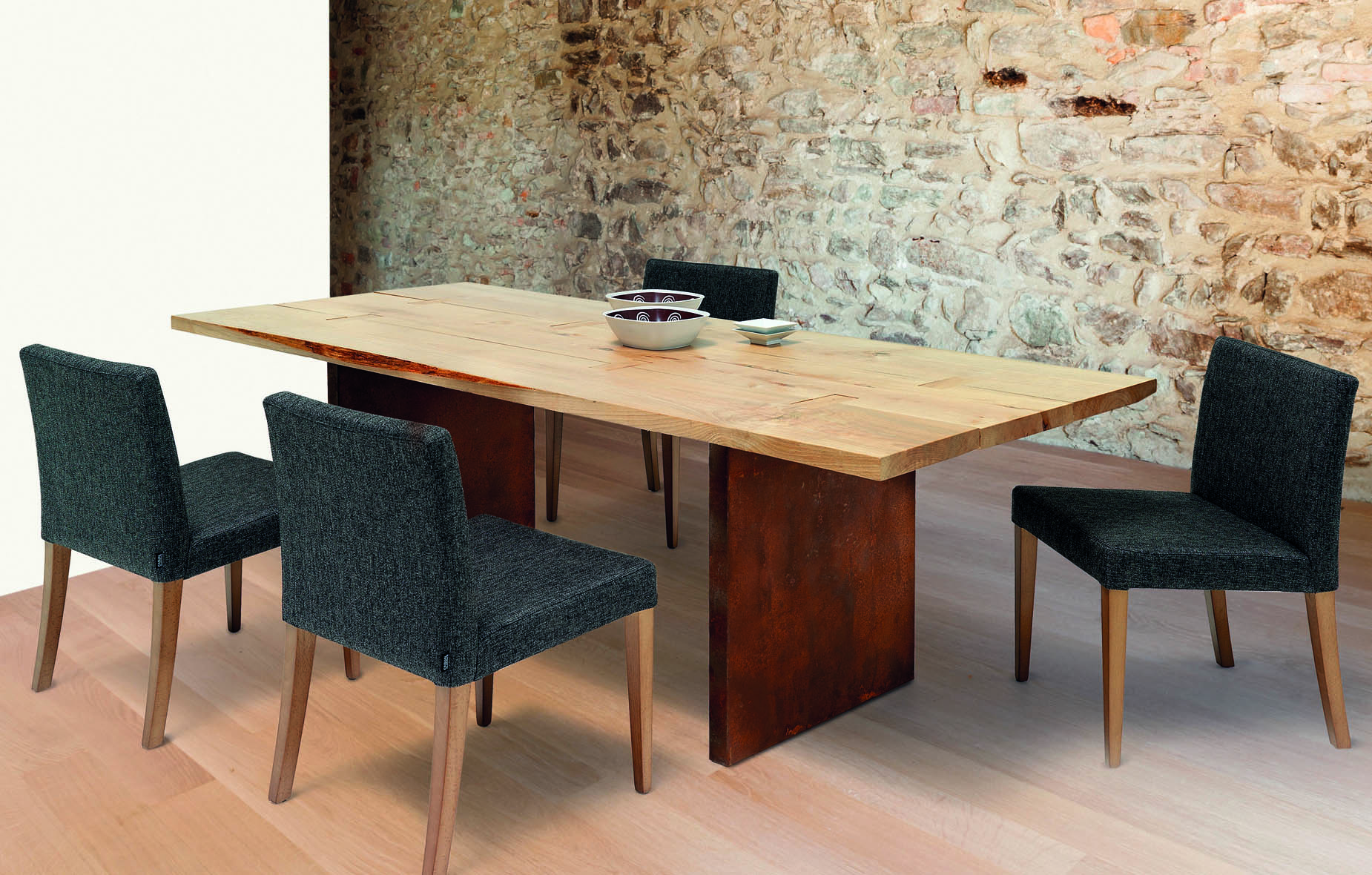 Mesa de comedor tablero natural May