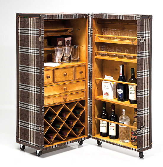 Mueble bar baul highlands no disponible en for Muebles para resto bar