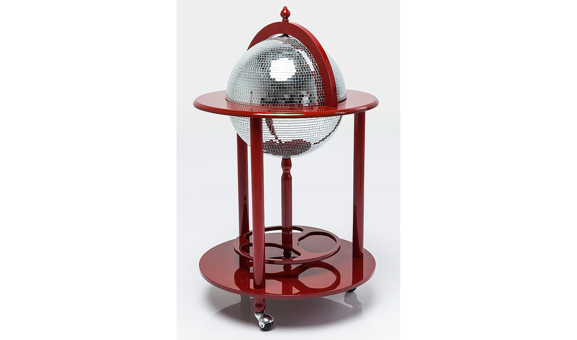 Mueble bar moderno globo disco en for Muebles para resto bar