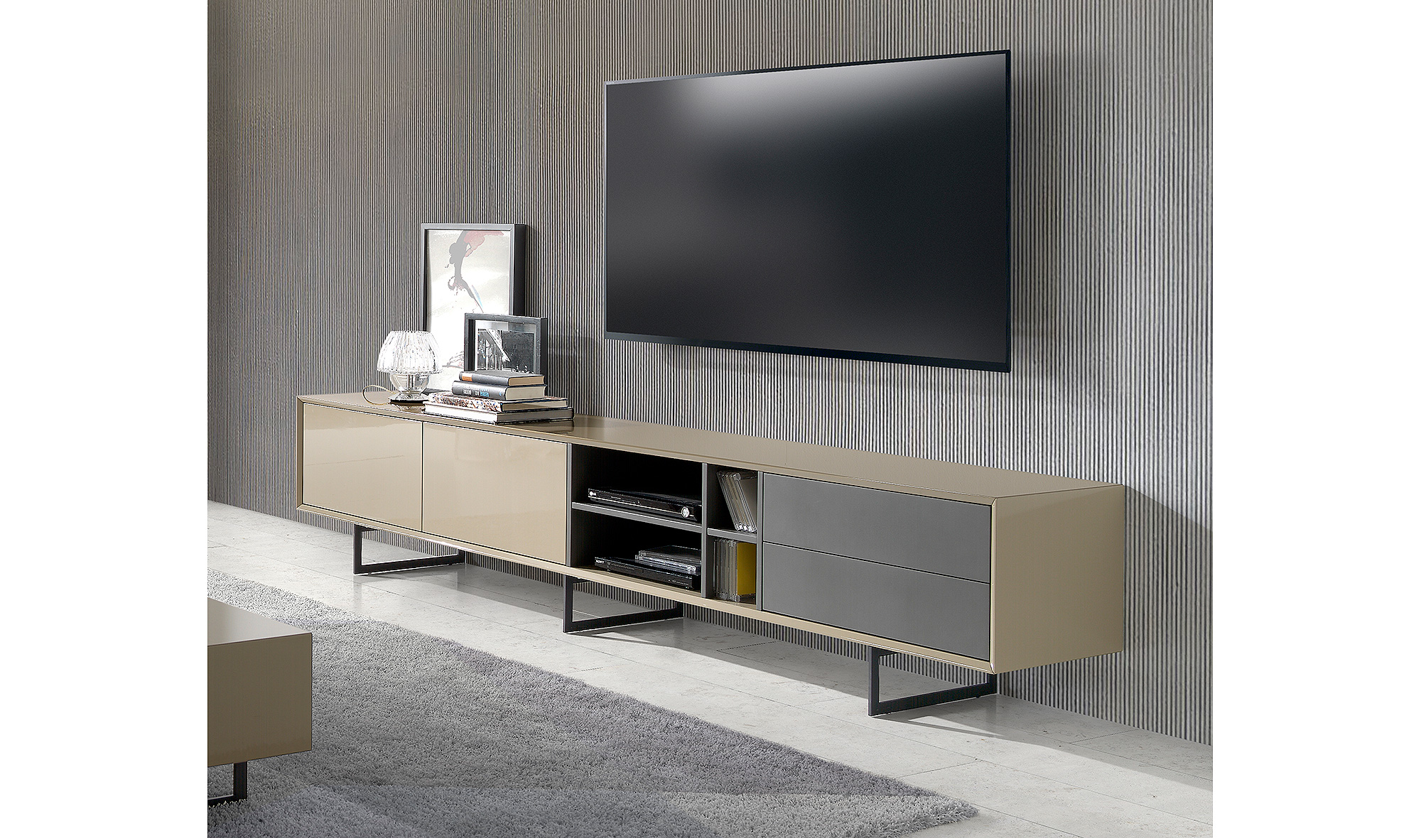 Mueble de tv moderno manises en for Mueble tv moderno