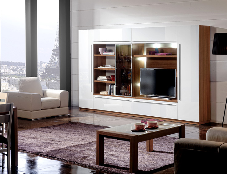 Mueble de tv moderno manor no disponible en for Mueble tv moderno