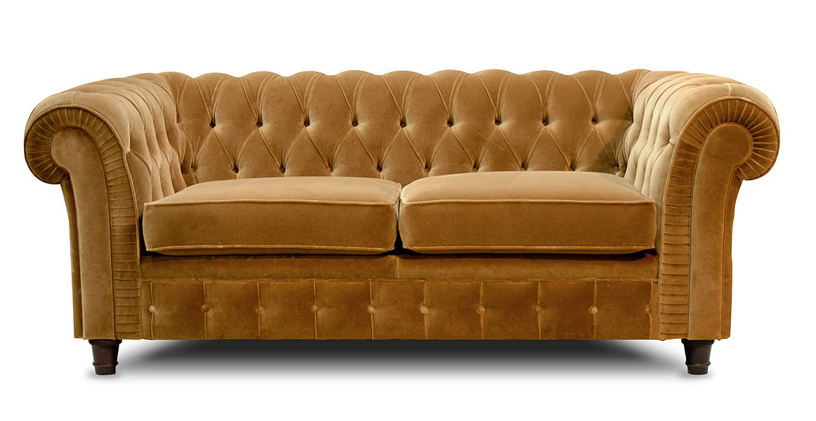 Sof chester terciopelo no disponible en for Sofas clasicos madrid