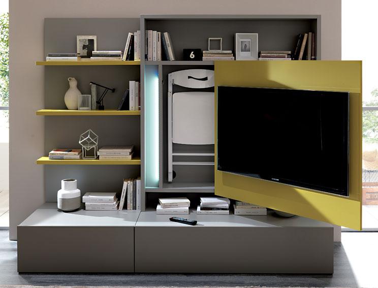 Mueble tv moderno smart en cosas de arquitectoscosas de for Diseno de muebles para tv modernos