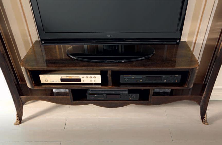 Mueble tv bisanzio de lujo en - Mueble tv estrecho ...