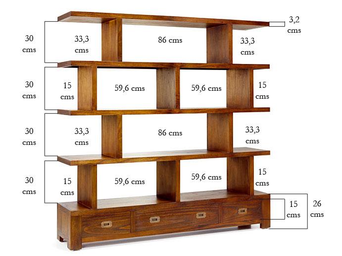 Muebles para libreria para saln foto nuevos muebles for Muebles rey barcelona