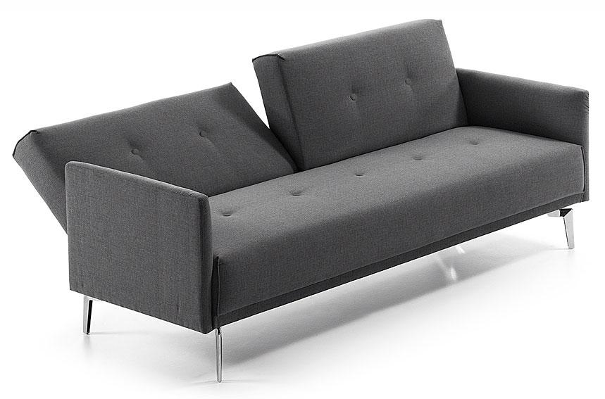 Sof cama gris moderno rolf en cosas de arquitectoscosas - Sofa cama modernos ...