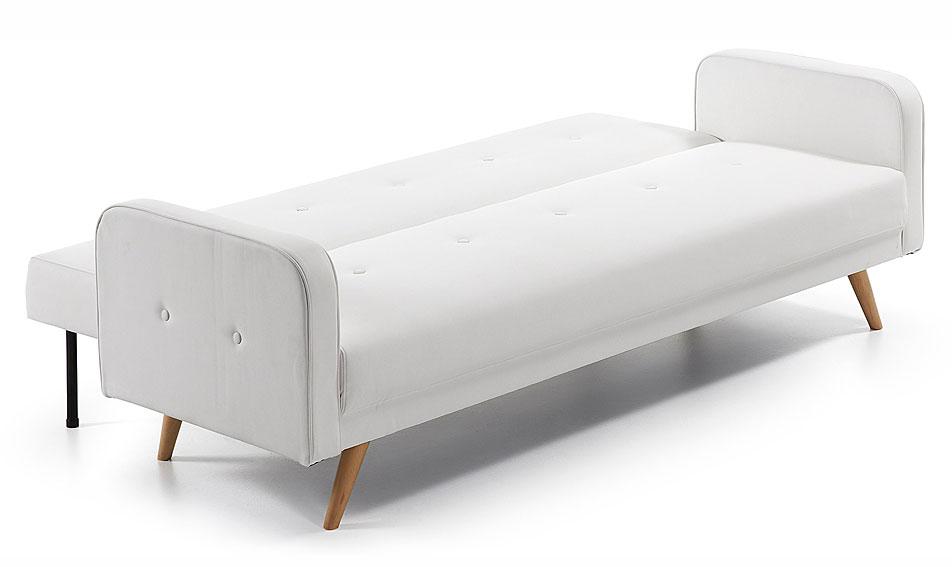 Sof cama retro blanco roger en cosas de arquitectoscosas for Sofa exterior conforama