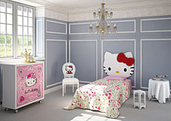 Dormitorio Hello Kitty Sofisticada
