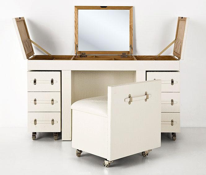 Mesa de escritorio tocador vintage diva tribeca en for Muebles eroticos