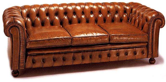 Historia del mueble y del mobiliario for Sofa clasico ingles