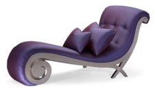 Chaise Longue Simple Christopher Guy