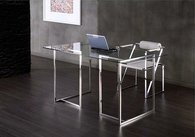 Muebles y muebles de madera muebles de dise o tiendas de - Mesas de despacho de cristal ...