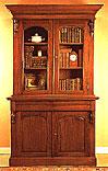 Librero Victoriano 2 puertas