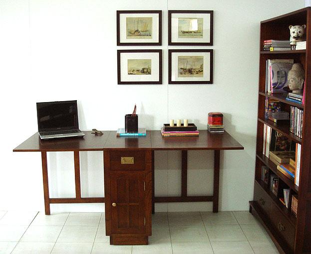 Mesa de escritorio alas plegable - Mesa de escritorio plegable ...