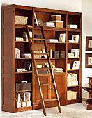Librería biblioteca grande Colonial Bruno
