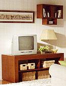 Mueble Tv Zen - Muebles de Tv Coloniales y Rústicos - Muebles Coloniales y Muebles Rústicos