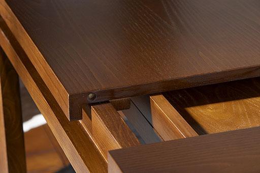 Mesa comedor flamingo extensible - Mesas de madera redondas extensibles ...