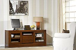 Mueble de Tv Newman  - Muebles de Tv Coloniales y Rústicos - Muebles Coloniales y Muebles Rústicos